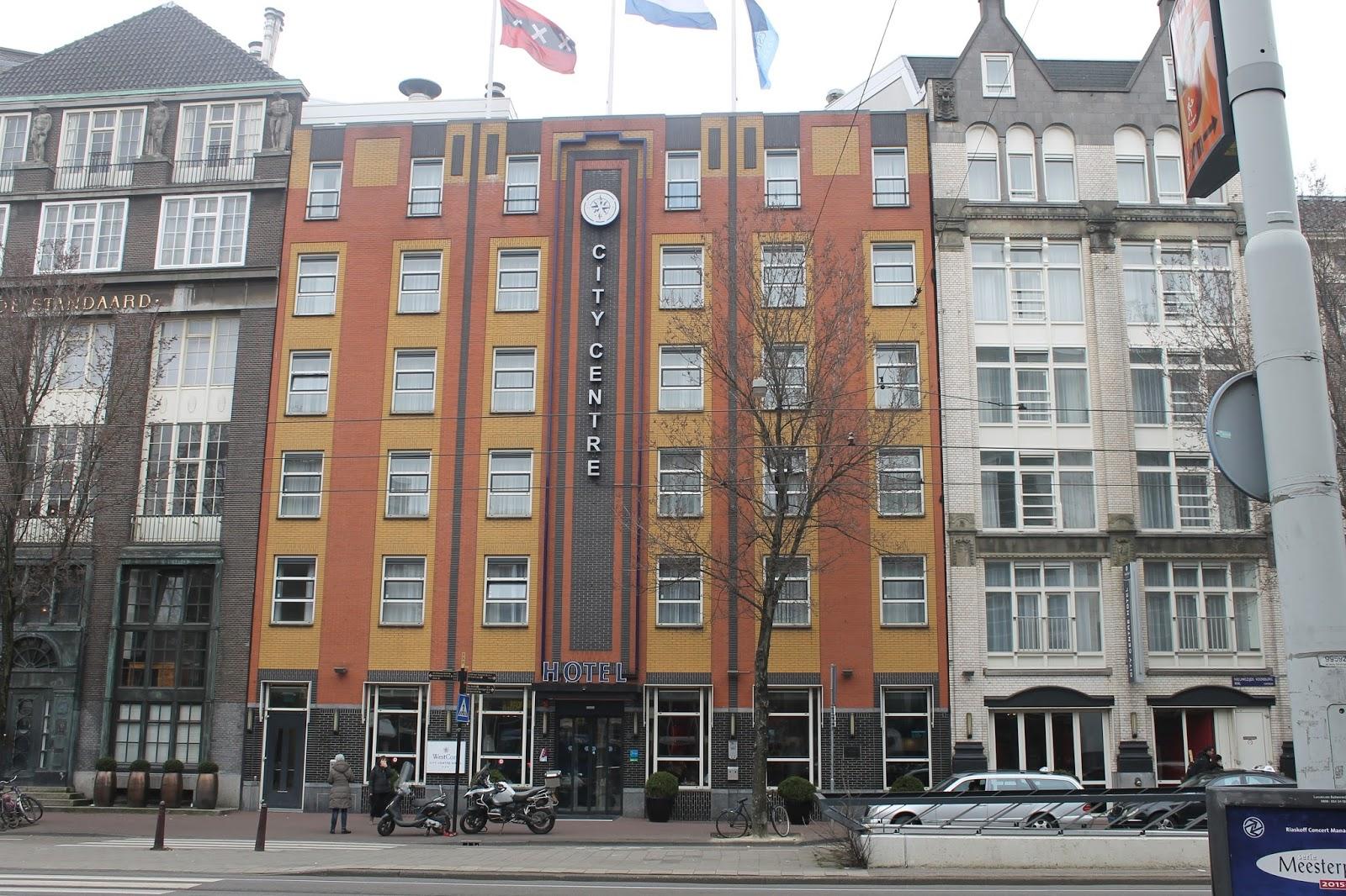 Plog weekendje amsterdam westcord city centre hotel for City hotel amsterdam