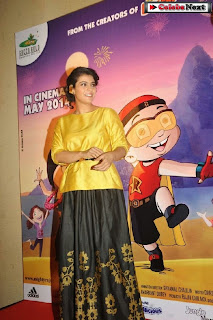 Bollywood Actress Kajol at Mighty Raju Rio Calling Promotion  0023