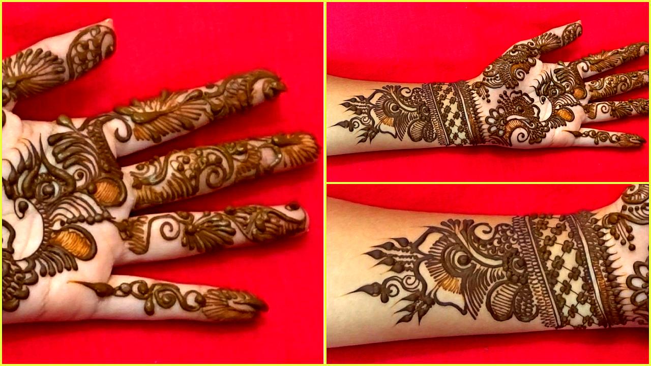 Indo Arabic Mehndi Design Naush Artistica Naush Artistica