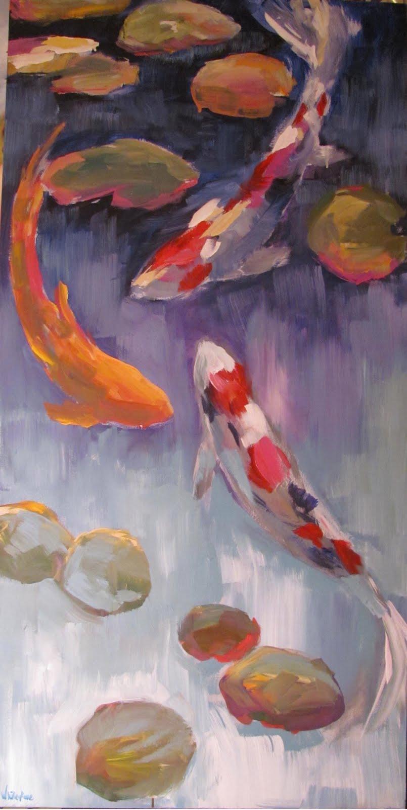 Whitestone fine art august 2011 for Koi for sale near me