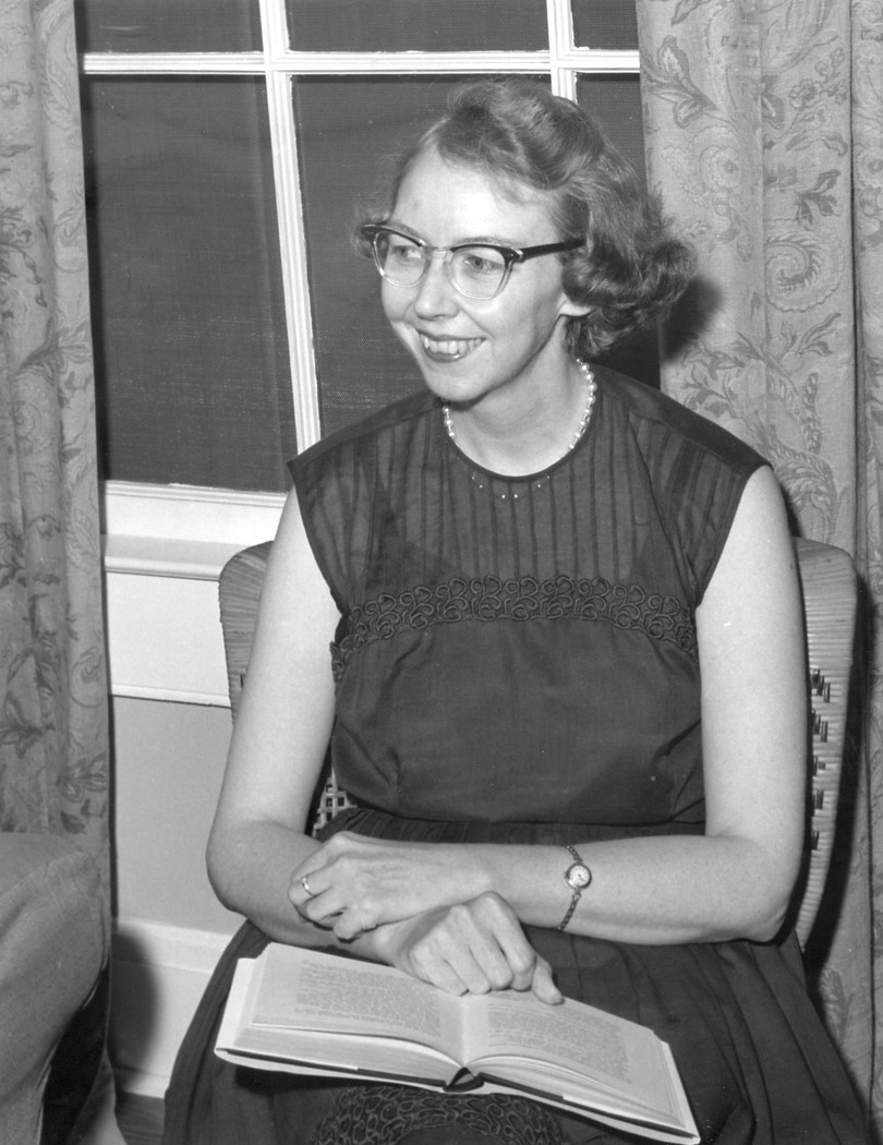 andalusia home of flannery o connor flannery o connor  photo by joe mctyre for the ajc in 1962