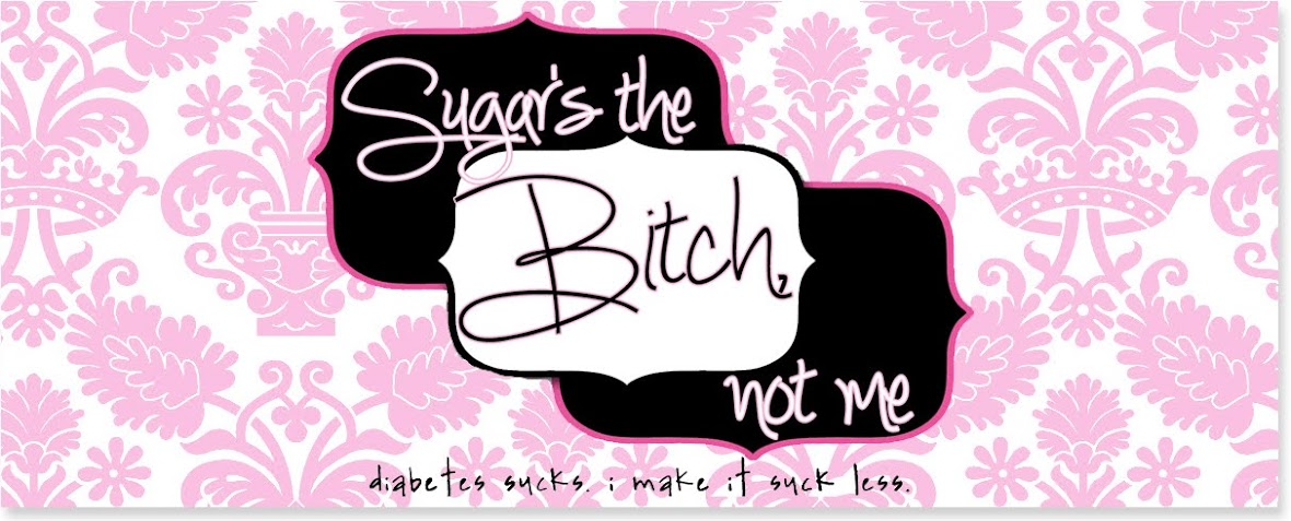 Sugar's the Bitch, Not Me