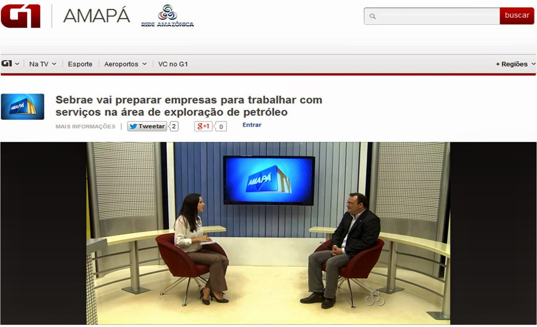 Diretor de Adminstração e Finanças do Sebrae Amapá - Waldeir Garcia Ribeiro