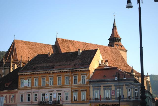 black church / trip / Romania / oldtown / Brasov /