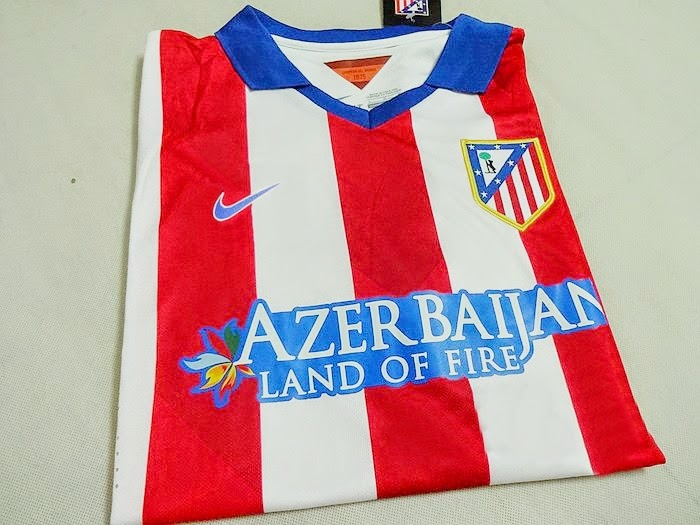 Jersey Atletico Madrid Home 2015 Player Issue Nike