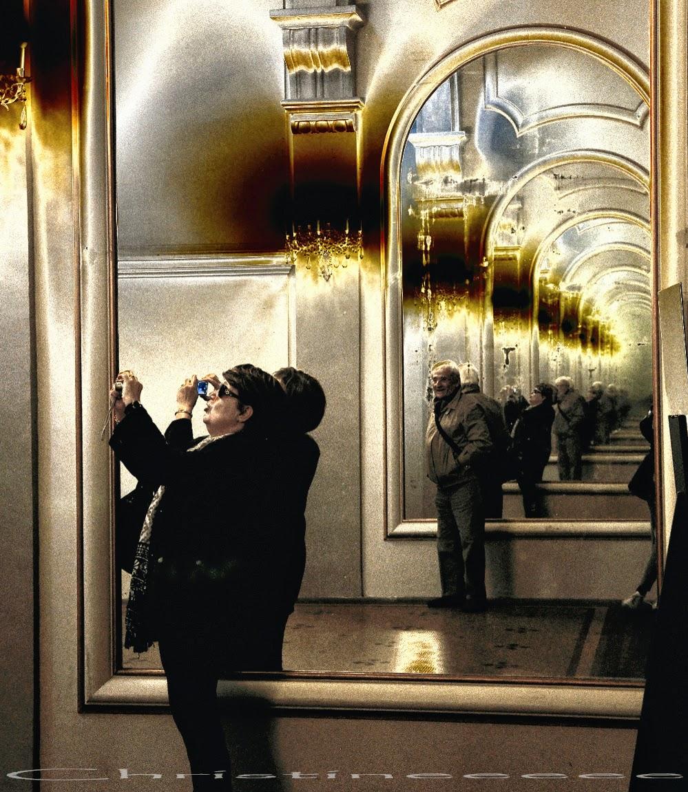 L 39 ardoise magique jeu de miroirs au capitole for Un lointain miroir