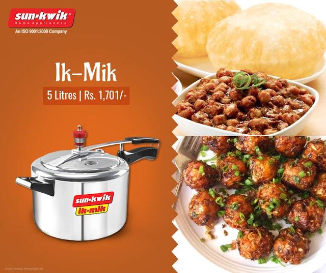 Ik-Mik Sun-Kwik Pressure Cooker
