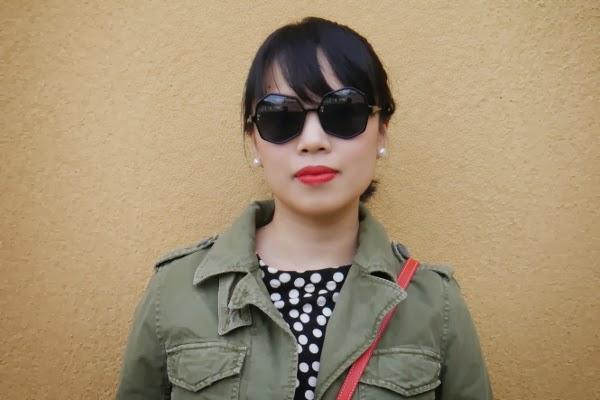 KOMONO 'Bonnie' oversize octagon shades