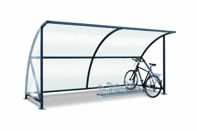 Fahrradüberdachung Modell Bamberg 18