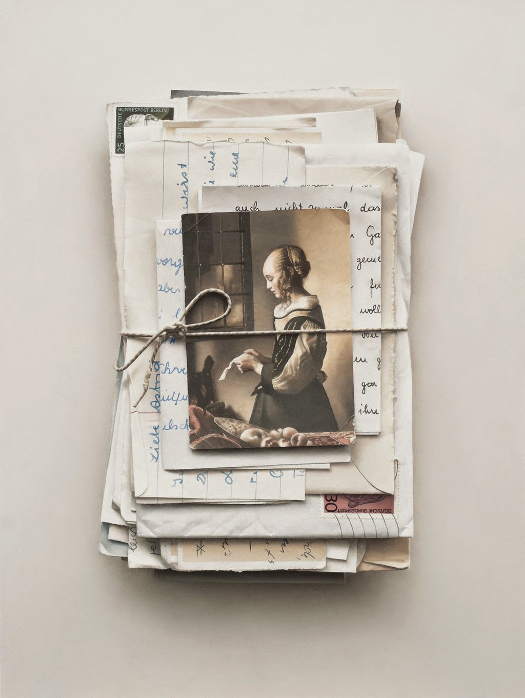 19-Letters-II-Patrick-Kramer-Hyper-Realistic-Paintings-www-designstack-co