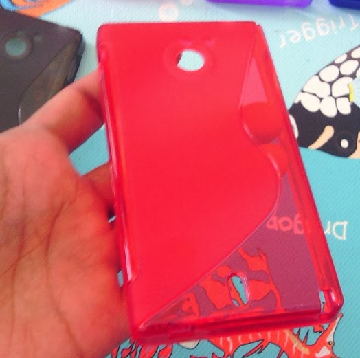 TPU Jelly Case for Sony Xperia Sola MT27i - Red