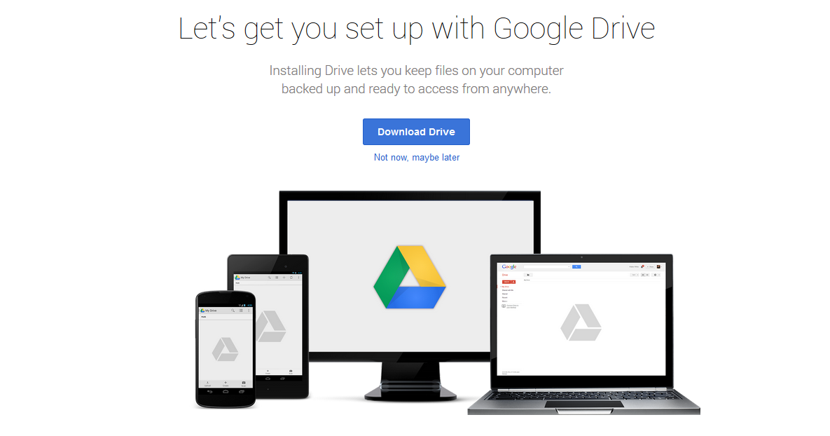 how to get google drive on an imac