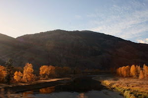 The Similkameen late autumn