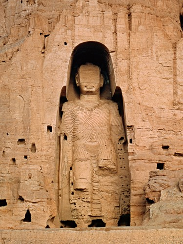 Artworks Damaged/Destroyed by Islamic Totalitarians: Great and Minor Buddhas of Bamiyan