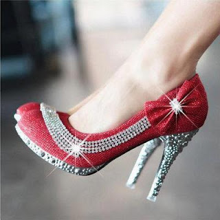 Red high heel Shoes 2013