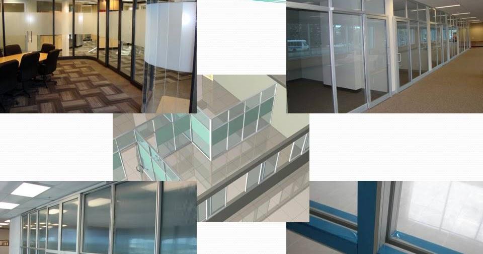 ... kaca ruang, Partisi kaca dinding, Partisi kaca: Partisi Aluminium Kaca