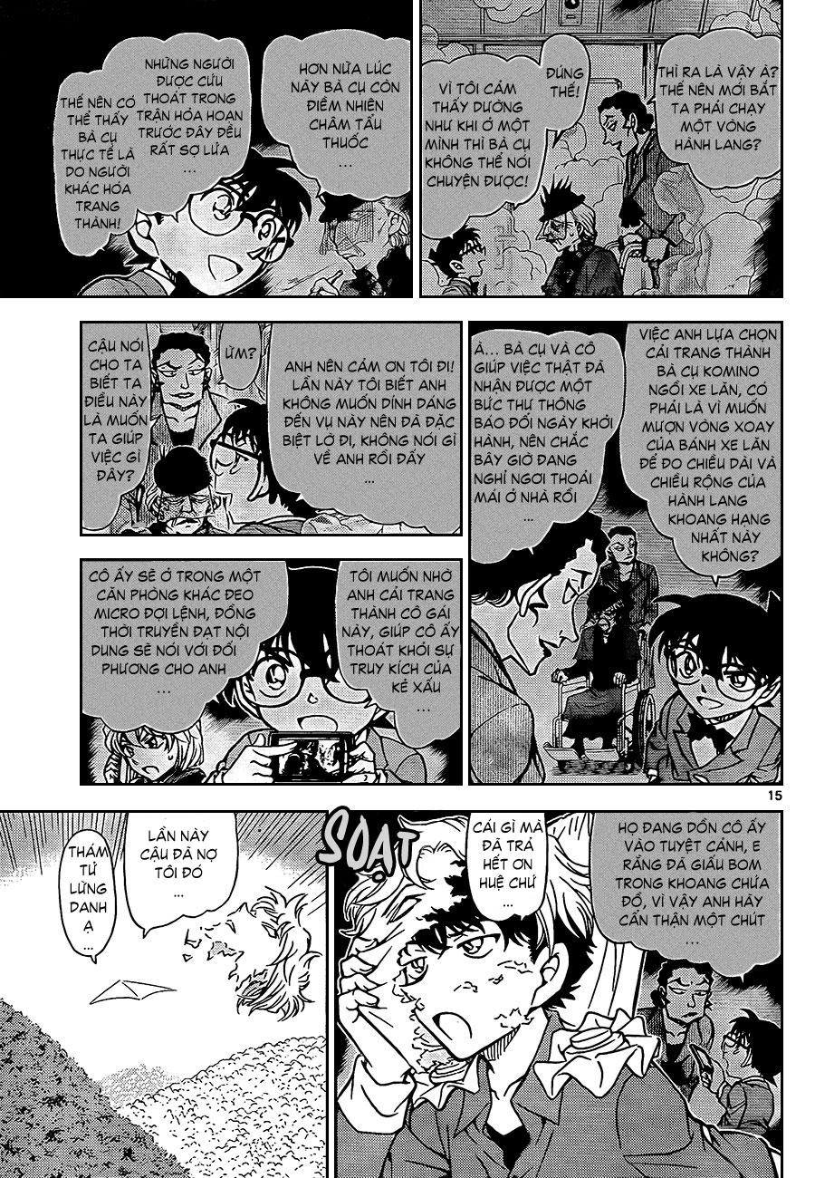 Thám Tử Lừng Danh Conan - Chapter 824 - Pic 16