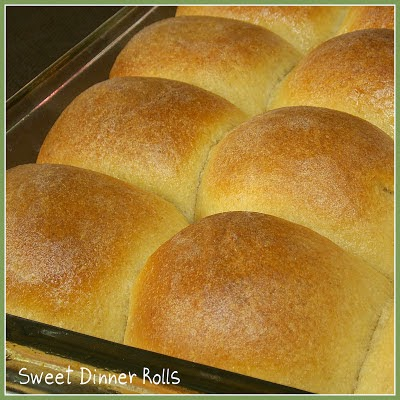 Sweet Dinner Rolls | by The Life and Loves of Grumpy's Honeybunch