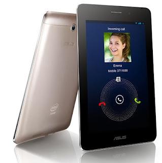 Gambar Asus Fonepad Tablet Intel Inside dengan fitur telepon