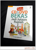 SULAP CD&DVD BEKAS JADI JUTAAN RUPIAH, Tri Heri Subagyo
