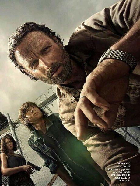 The Walking Dead Temporada 4: fotos NOW ON-LINE