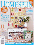 My Knitting Cat Lady Wound Up In Australian Homespun Magazine!