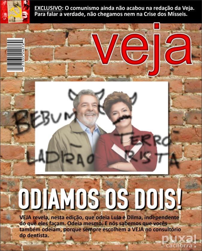 Revistas com capas realistas Veja_sincera