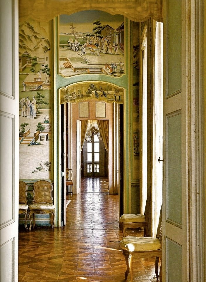 Eye for design enfilades beautiful architectural elements for Enfilade architecture