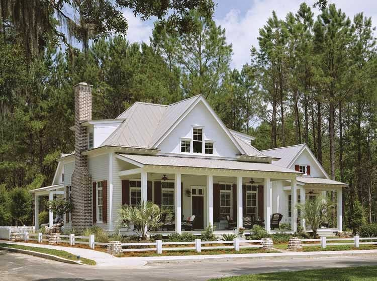 Awesome Home Design With Plans: New American Country House Plans of 2015