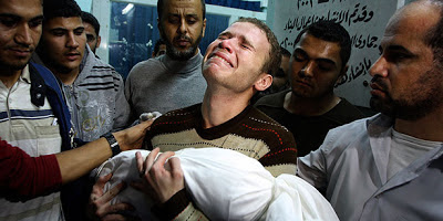 Gaza: Baby killed by Israeli bombing