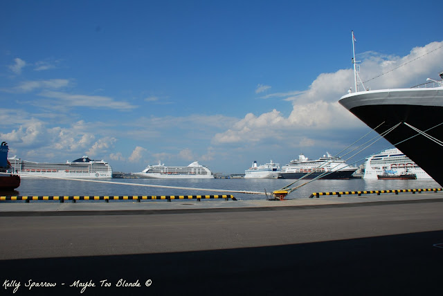 St. Petersburg Russia cruise ships
