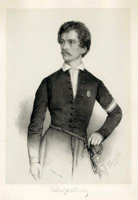 Portrait of Sándor Petőfi Miklós Barabás