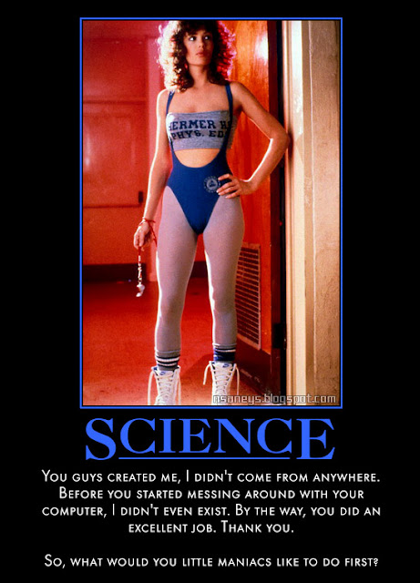 Nsaney'z Posters II: Kelly LeBrock: Weird Science Workout Outfit