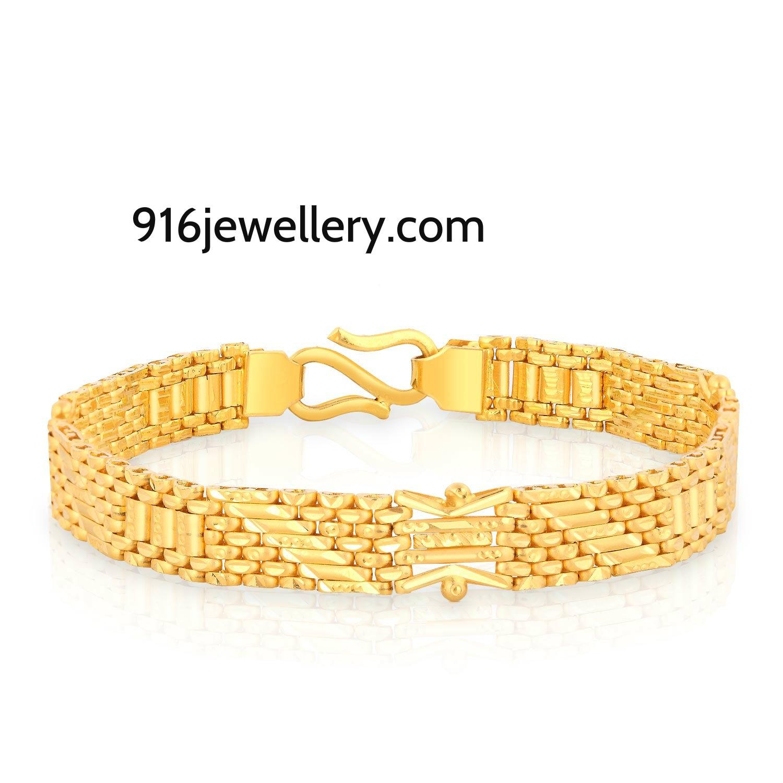 gold bracelets for men designs sudhakar gold works. Black Bedroom Furniture Sets. Home Design Ideas