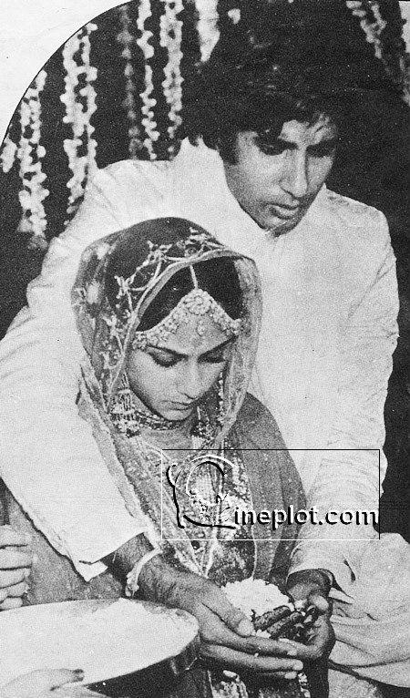 actor amitabh bachchan actress jaya bhaduri wedding pic actor amitabhAmitabh Bachchan Marriage Photos