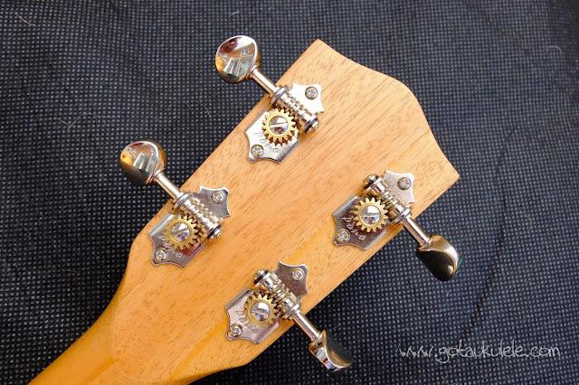 Pono MB-e Baritone ukulele tuners
