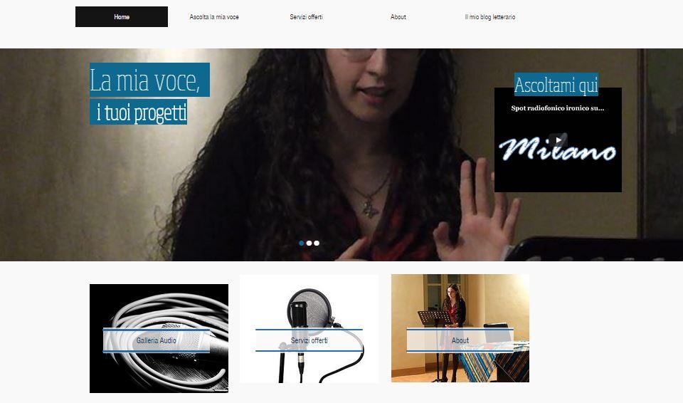 Il mio sito da speaker