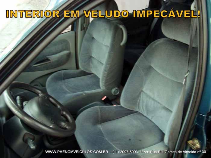 Renault Scenic 1999 RXE 2.0 manual à venda - Preço R$ 16.500 - interior