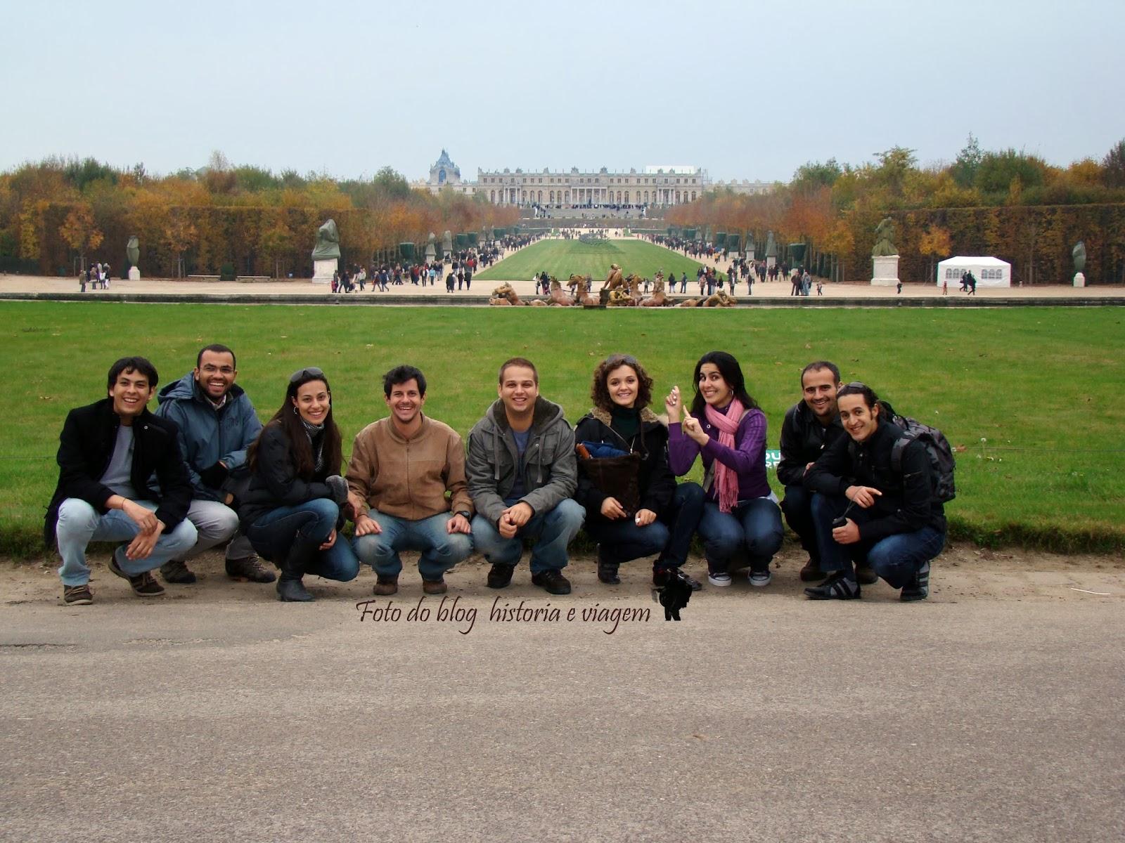 Jardins de Versalhes - França
