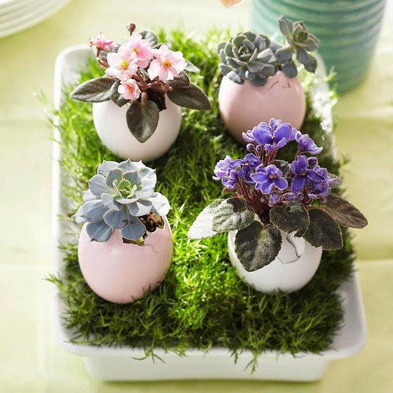 Easter Decoration Ideas with Eggs