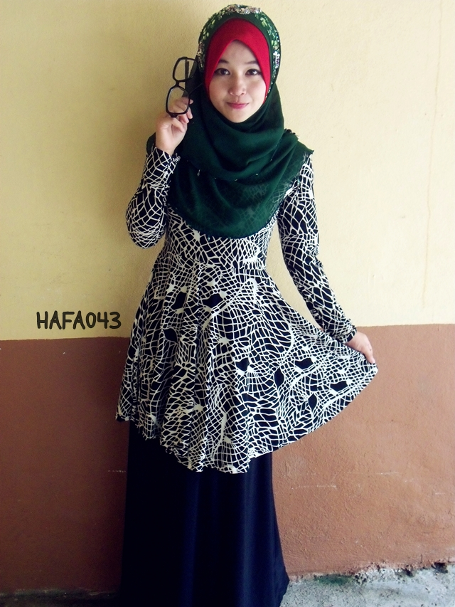 Baju Kurung Peplum Dari Blog Hazanis Part-2
