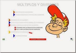 http://www.gobiernodecanarias.org/educacion/3/WebC/eltanque/todo_mate/multiplosydivisores/multiplosydivisores_p.html