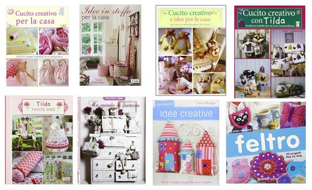9 Libri di cucito creativo con cartamodelli