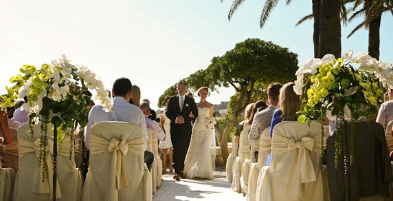 Married at the Palm Terrace, Dubrovnik, Croatia