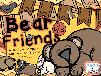https://www.teacherspayteachers.com/Product/Bear-and-His-Friends-Bear-Snores-On-1527139