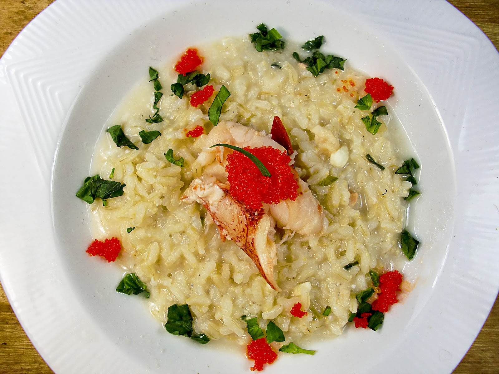 ChezWhat?: Lobster Risotto