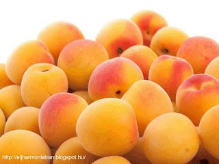 sárgabarack hatásai, sárgabarackos receptek, sárgabarack fogyasztás, sárgabarack jótékony hatásai
