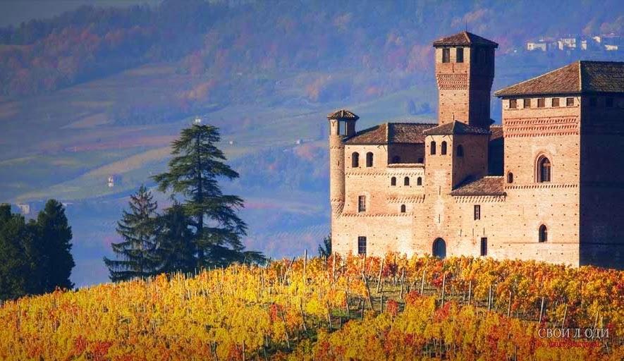 замки Пьемонте