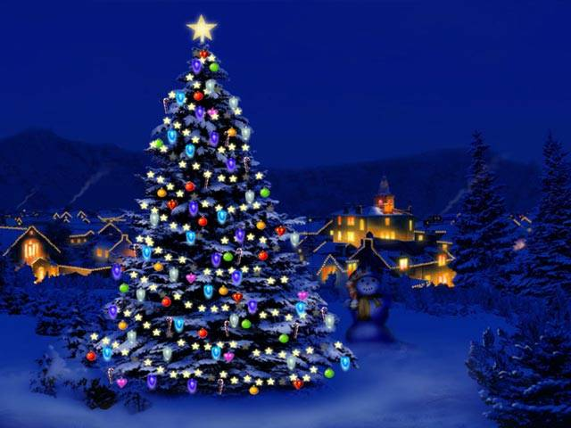 Animated Christmas Wallpaper for Windows 7 - FAW