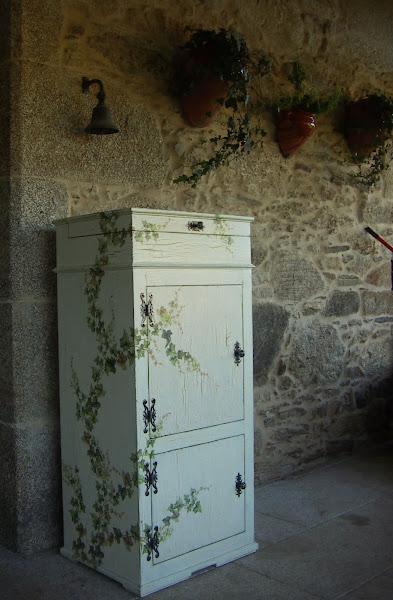 39 hacer un mueble con un acabado craquelado decoupage - Muebles craquelados ...